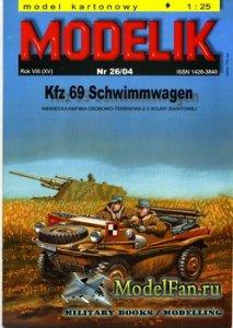 Modelik 26/2004 - Kfz 69 Schwimmwagen