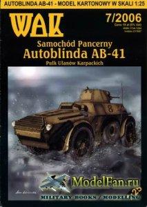 WAK 7/2006 - Samochod Pancerny Autoblinda AB-41