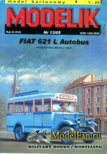 Modelik 13/2005 - FIAT 621 L Autobus