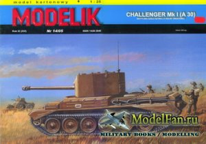 Modelik 14/2005 - Challenger Mk.I (A 30)