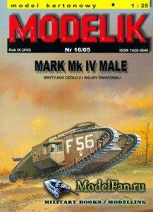 Modelik 16/2005 - Mark Mk.IV Male