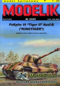 Modelik 23/2005 - PzKpfw VI