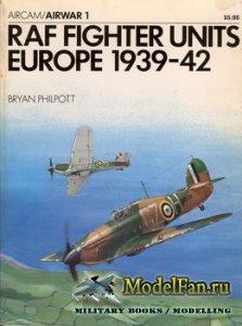 Osprey - Airwar 1 - RAF Fighter Units Europe 1939-42