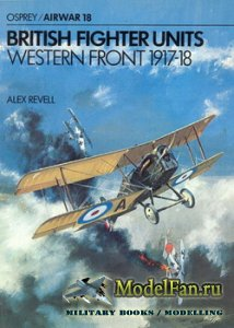 Osprey - Airwar 18 - British Fighter Units - Western Front 1917-1918