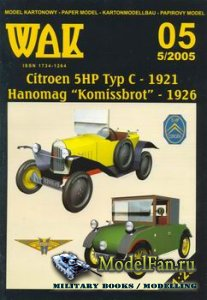 WAK 5/2005 - Citroen 5HP Typ C (1921) & Hanomag