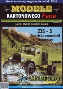 Answer. Model Kartonowy Fana 1/2002 - ZiS-5