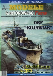 Answer. Model Kartonowy Fana 5-6/2002 - Destroyer ORP