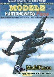Answer. Model Kartonowy Fana 1/2002 Special - P-61B Black Widow