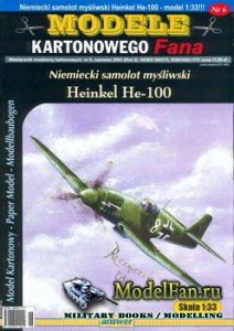 Answer. Model Kartonowy Fana 5/2003 - Heinkel He-100