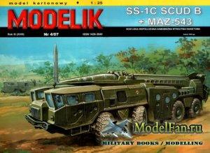 Modelik 4/2007 - SS-1C Scud B + MAZ-543