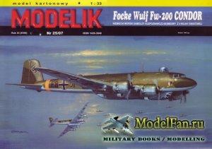 Modelik 25/2007 - Focke-Wulf FW-200