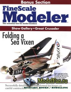 FineScale Modeler Bonus Section - Folding Sea Vixen (Show Gallery, Great Cr ...
