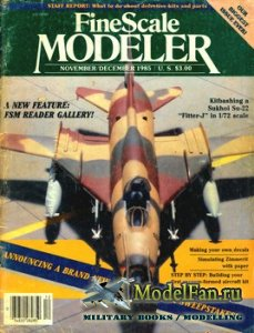 FineScale Modeler Vol.3 №6 (November/December) 1985