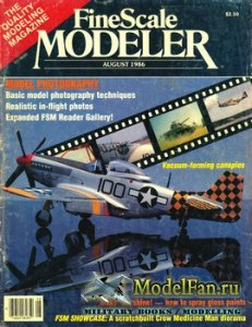 FineScale Modeler Vol.4 №4 (August) 1986