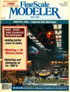 FineScale Modeler Vol.7 №4 (May) 1989