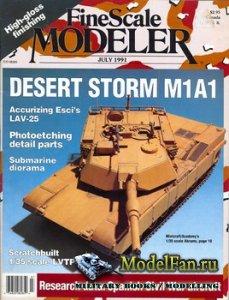 FineScale Modeler Vol.9 №5 (July) 1991