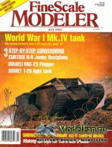 FineScale Modeler Vol.11 №5 (July) 1993