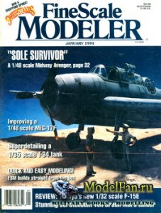 FineScale Modeler Vol.12 №1 (January) 1994