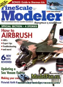 FineScale Modeler Vol.20 №3 (March 2002)