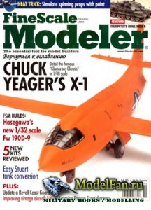 FineScale Modeler Vol.21 №8 (October) 2003