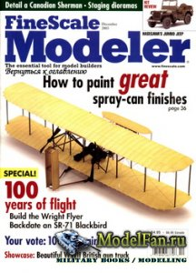 FineScale Modeler Vol.21 №10 (December) 2003