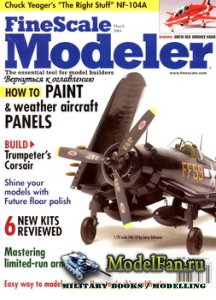 FineScale Modeler Vol.22 №3 (March) 2004