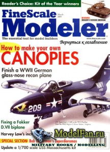 FineScale Modeler Vol.23 №3 (March) 2005