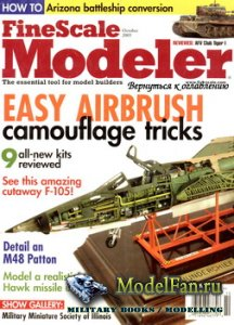 FineScale Modeler Vol.23 №8 (October) 2005
