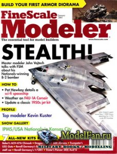 FineScale Modeler Vol.25 №1 (January) 2007