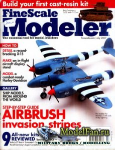 FineScale Modeler Vol.25 №6 (July) 2007