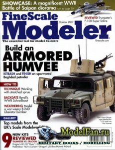 FineScale Modeler Vol.25 №8 (October) 2007