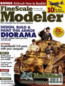 FineScale Modeler Vol.25 №9 (November) 2007