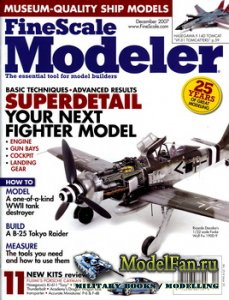 FineScale Modeler Vol.25 №10 (December) 2007