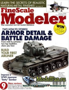 FineScale Modeler Vol.26 №1 (January) 2008