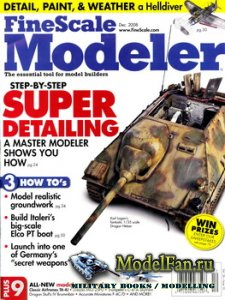 FineScale Modeler Vol.26 №10 (December) 2008