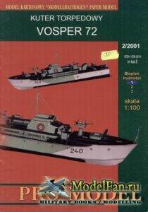 Pro-Model №5 - Kuter Torpedowy Vosper 72