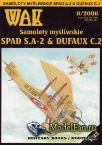 WAK 8/2008 - Spad S.A.-2 & Dufaux C.2