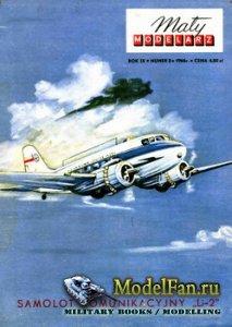 Maly Modelarz №3 (1966) - Samolot Komunikacyjny Li-2