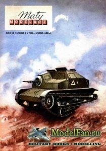 Maly Modelarz №9 (1966) - Lekki czolg rozpoznawczy TKS