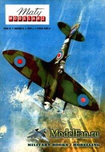 Maly Modelarz №5 (1967) - Samolot mysliwski Spitfire Mk.Vb