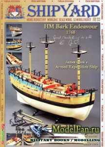 Shipyard №33 - HM Bark Endeavour, 1768