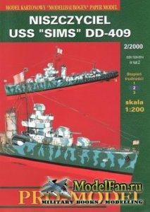 Pro-Model №2 - Niszczyciel USS