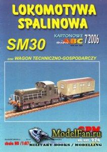 GPM 974 - Lokomotywa Spalinowa SM30