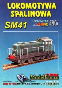 GPM 975 - Lokomotywa Spalinowa SM41