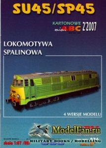 GPM 976 - Lokomotywa Spalinowa SU45 / SP45