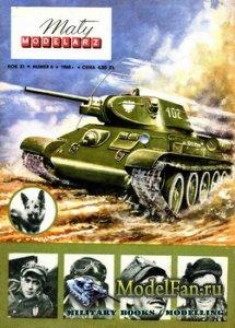 Maly Modelarz №6 (1968) - Czolg T-34-76