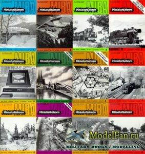 MIBA (Miniaturbahnen) журналы за 1981 год