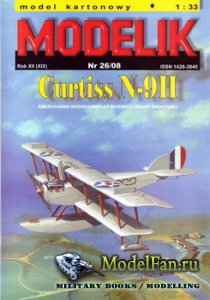 Modelik 26/2008 - Curtiss N-9H