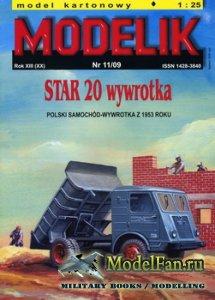Modelik 11/2009 - Star 20 Wywrotka