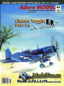 Adore Model 6/2002 - Chance Vought F4U-1A